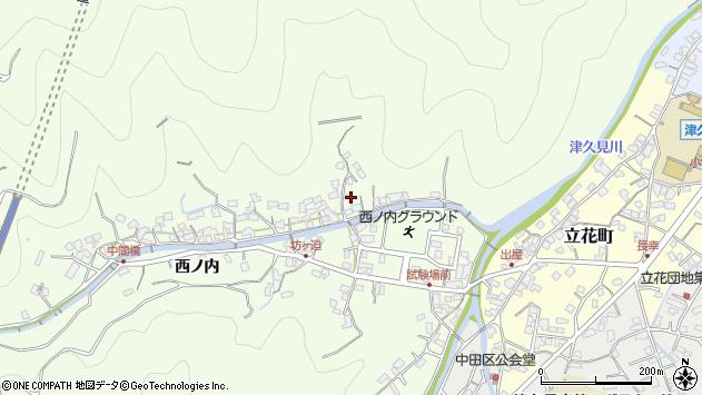 大分県津久見市津久見8408周辺の地図