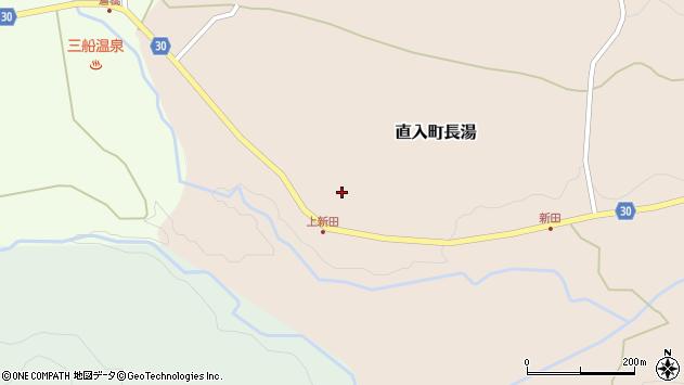 大分県竹田市直入町大字長湯3830周辺の地図