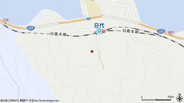 大分県津久見市網代450周辺の地図