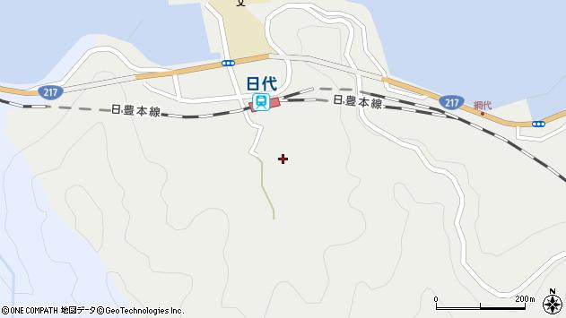 大分県津久見市網代531周辺の地図