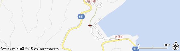 大分県津久見市四浦2959周辺の地図