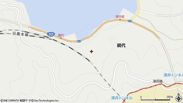 大分県津久見市網代2175周辺の地図