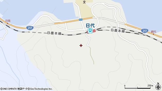 大分県津久見市網代399周辺の地図