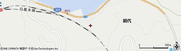 大分県津久見市網代2160周辺の地図