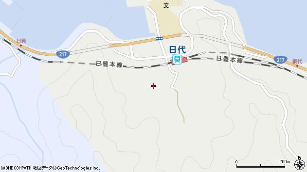 大分県津久見市網代397周辺の地図
