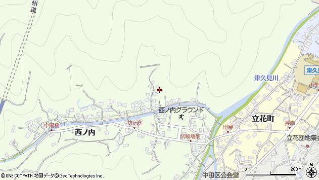 大分県津久見市津久見8399周辺の地図