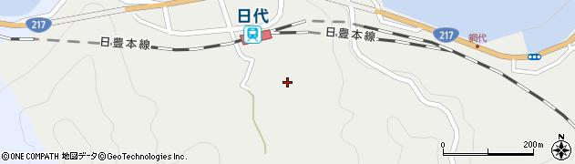大分県津久見市網代537周辺の地図