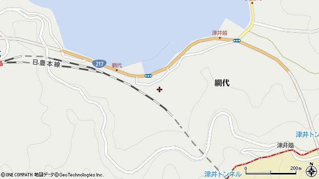 大分県津久見市網代2159周辺の地図