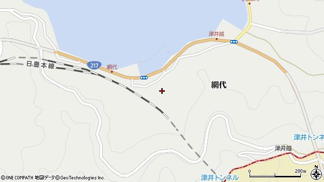 大分県津久見市網代2171周辺の地図