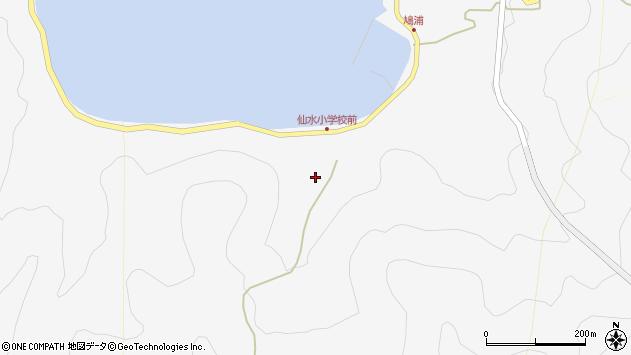 大分県津久見市四浦1484周辺の地図