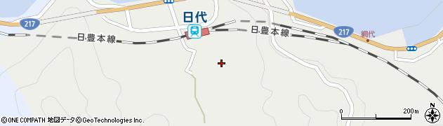 大分県津久見市網代507周辺の地図