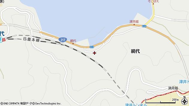 大分県津久見市網代2162周辺の地図