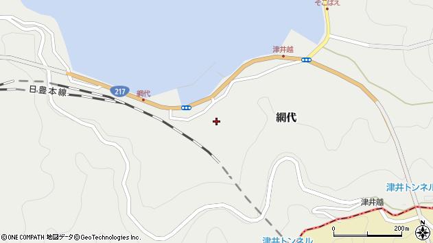 大分県津久見市網代2293周辺の地図