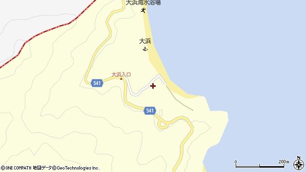 大分県佐伯市上浦大字最勝海浦165周辺の地図
