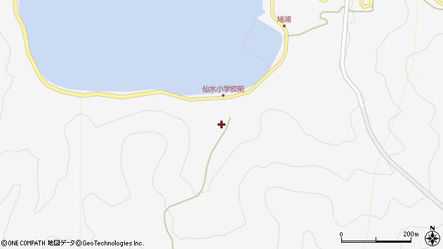 大分県津久見市四浦1482周辺の地図