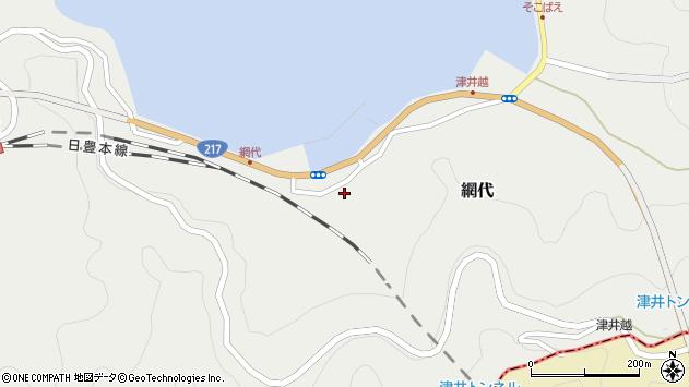 大分県津久見市網代2166周辺の地図