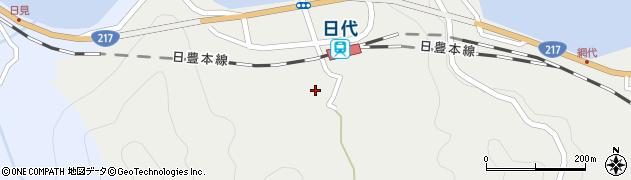 大分県津久見市網代437周辺の地図