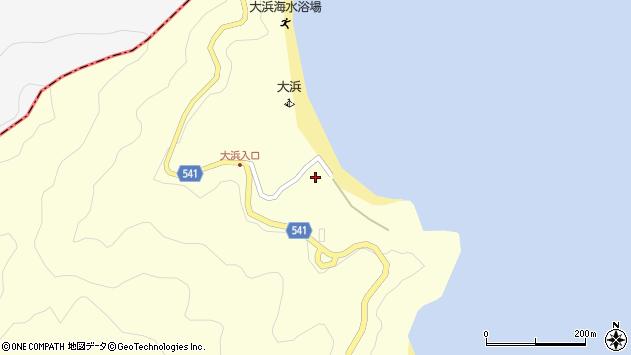 大分県佐伯市上浦大字最勝海浦171周辺の地図