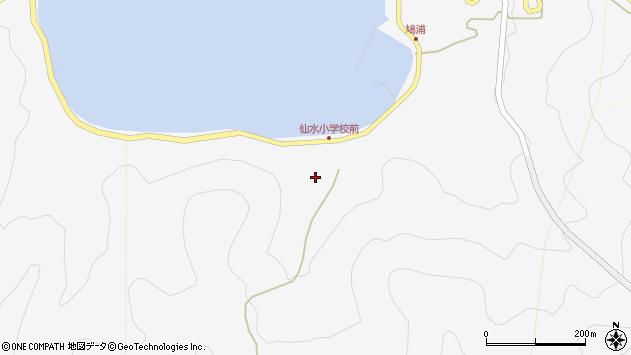 大分県津久見市四浦1517周辺の地図
