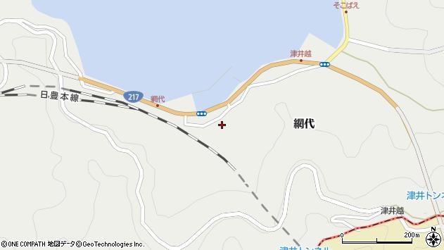 大分県津久見市網代2318周辺の地図