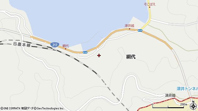 大分県津久見市網代2295周辺の地図