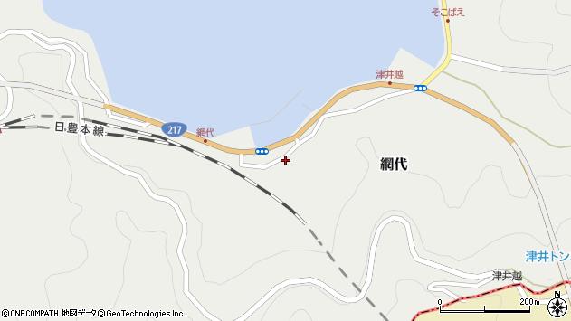 大分県津久見市網代2168周辺の地図