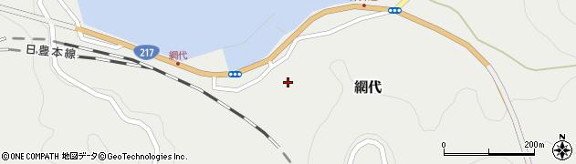 大分県津久見市網代2306周辺の地図