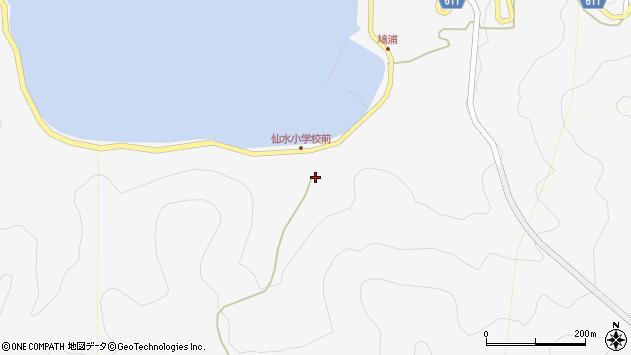 大分県津久見市四浦1720周辺の地図