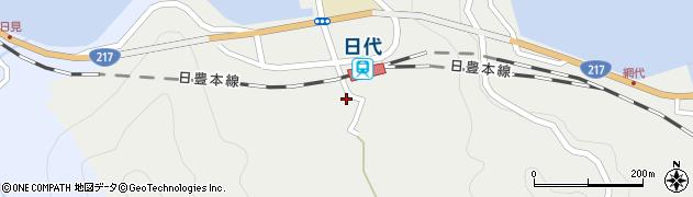 大分県津久見市網代426周辺の地図
