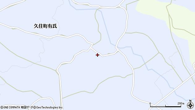 大分県竹田市久住町大字有氏278周辺の地図