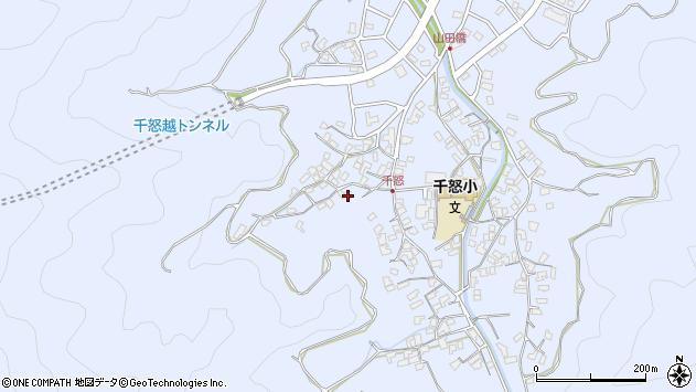 大分県津久見市千怒1060周辺の地図