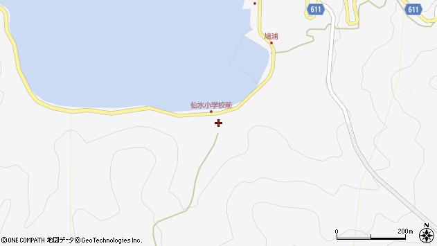 大分県津久見市四浦1714周辺の地図