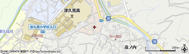 大分県津久見市文京町6周辺の地図