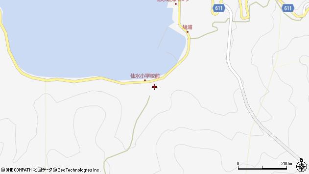 大分県津久見市四浦1712周辺の地図