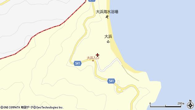 大分県佐伯市上浦大字最勝海浦133周辺の地図
