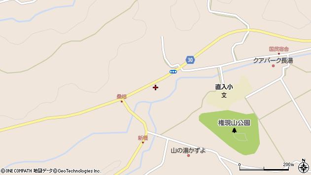 大分県竹田市直入町大字長湯3271周辺の地図