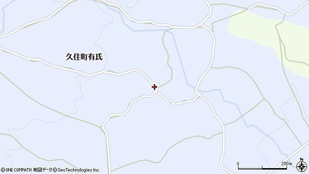 大分県竹田市久住町大字有氏293周辺の地図