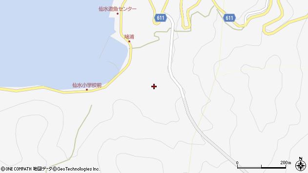 大分県津久見市四浦1658周辺の地図