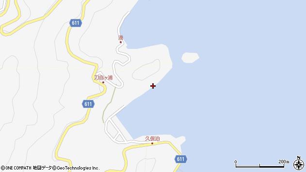 大分県津久見市四浦2944周辺の地図