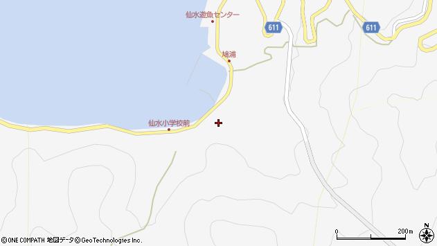 大分県津久見市四浦1702周辺の地図