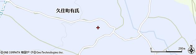 大分県竹田市久住町大字有氏320周辺の地図
