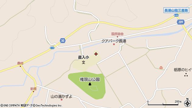 大分県竹田市直入町大字長湯3102周辺の地図