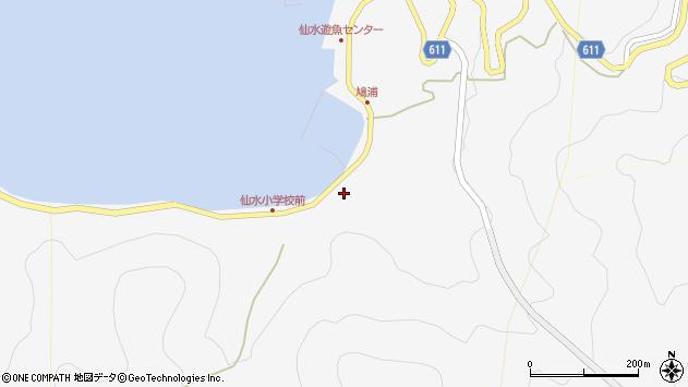 大分県津久見市四浦1651周辺の地図