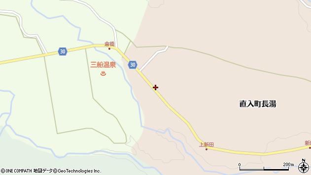 大分県竹田市直入町大字長湯3668周辺の地図