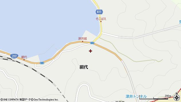 大分県津久見市網代2391周辺の地図