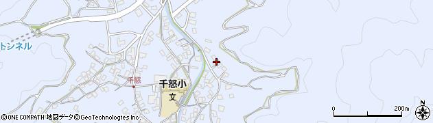 大分県津久見市千怒2872周辺の地図