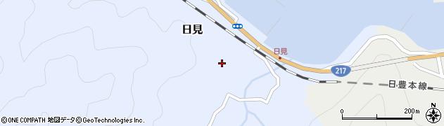 大分県津久見市日見1504周辺の地図