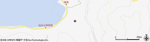 大分県津久見市四浦1667周辺の地図