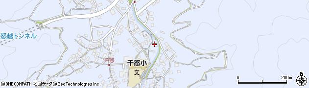 大分県津久見市千怒1355周辺の地図