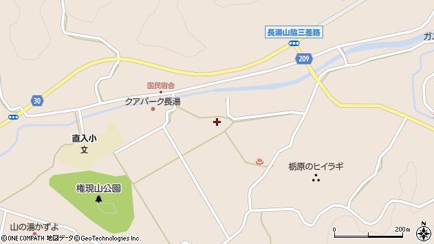 大分県竹田市直入町大字長湯3017周辺の地図